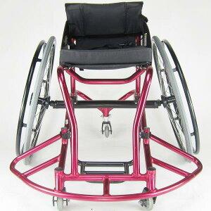 車椅子車いす車イスバスケットボール『Dunk(ダンク)』スポーツ初心者モデル自走練習用車いすバスケA706