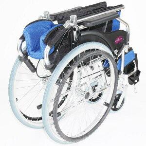 車椅子軽量折り畳み自走用車いす「ラバンバ」ライムチャップススリムコンパクト背折れソフトノーパンクタイヤ車イス介助用メーカー保証1年付き代引OKkadokura/カドクラ全3色