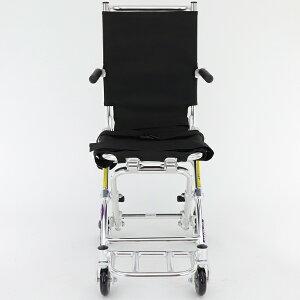 車椅子車イス車いす簡易型介護軽量折りたたみ送料無料カドクラKADOKURAポケッタB503-AP