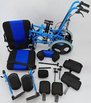 【スムーバ】【最新リクライニング式車椅子】【アルミ製】【フットレスト9段階調整】【フルフラット設定可能】【フットレストはスイングアウト&脱着可能】【ノーパンクタイヤ】【コンパクトサイズ】