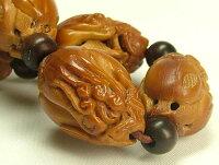 オリーブ種製ブレスレット「仏手柑」