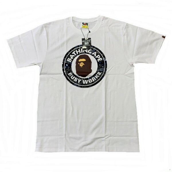 トップス, Tシャツ・カットソー  A BATHING APE TSPACE CAMO BUSY WORK TEE100XL1G30-110-031 SA5655