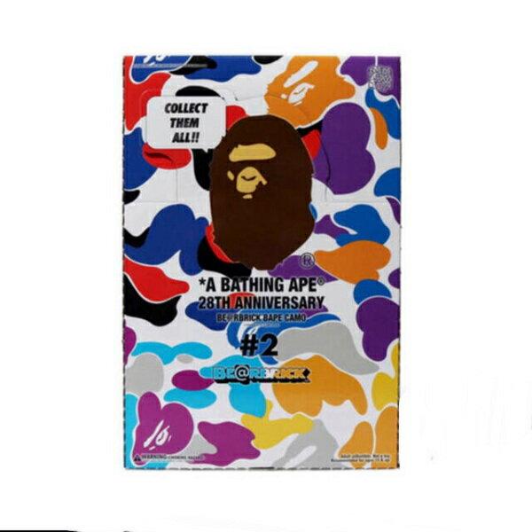 コレクション, フィギュア  A BATHING APExMEDICOM TOY 28TH ANNIVERSARY BERBRICK BAPE CAMO 100 21H23-182-930 SA6186