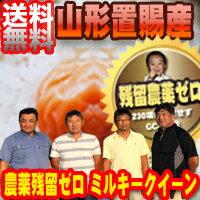 28年産 山形東置賜産 残留農薬ゼロ ミルキークイーン1等 玄米10kg【nk_fs...
