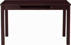 天然木集成材(ラバーウッド)SD-637パソコンモダンデスクダークブラウンW1200×D600×H720