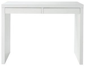 CHERRYCOLLECTIONパソコンデスク(サイドデスク)ホワイトSD-612(フラッシュ構造、UV塗装)W1000×D400×H720(チェアは別売り)