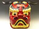 【送料無料】獅子頭 獅子舞い本格サイズ 松の内の伝統芸能  獅子頭(大) ししまい