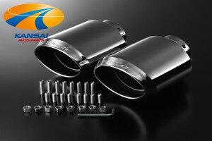 SilkBlazeマフラーカッターユーロタイプ(120mm×80mm)レクサスIS250ノーマルバンパー専用設計高...