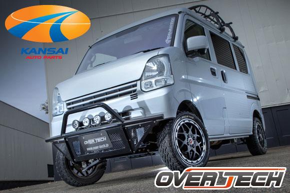 サスペンション, 車高調整キット  N-VAN JJ1JJ2MAX40 OVERTECH