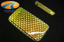 GARAXギャラクス200系ハイエースクリスタルミラーゴールドルームランプレンズセット特殊コーテ...