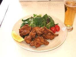 唐揚げ(骨なし・モモ肉一口切り)調理済み500g