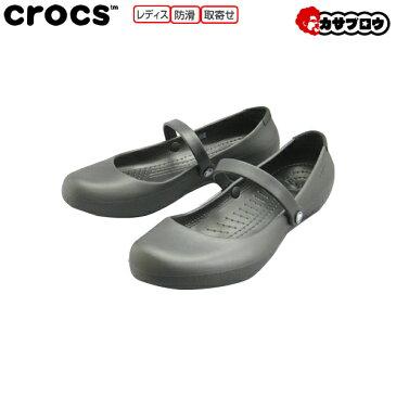 [crocs] アリスワーク クロックス/レディース/フラットシューズ/オフィス/カジュアル