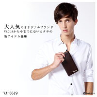 長財布メンズ牛革多機能L字ファスナーウォレットVACUA(11色)【VA-6619】