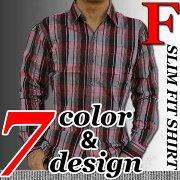 デザインチェックシャツ チェック カジュアル トップス デザイン おしゃれ
