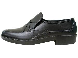 ボンステップメンズ靴【M-117/M117】ブラックビジネスシューズBonStep
