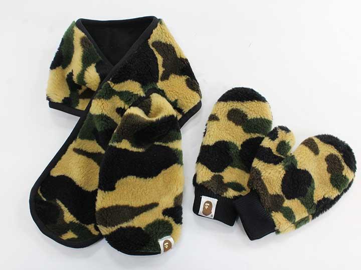 ファッション雑貨・小物, マフラー・スカーフ A BATHING APEBAPE KIDS USED kids 602102