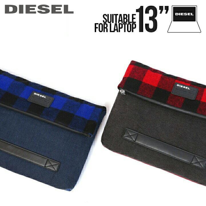 メンズバッグ, クラッチバッグ・セカンドバッグ DIESEL PC D-CHECK CLUTCHUNI2die-m-a-a6-509 17,380