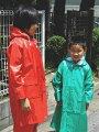 《レインコート・レインパーカー★キッズ子供用★上下別売り》K-700アミックKIDSパーカーS/M