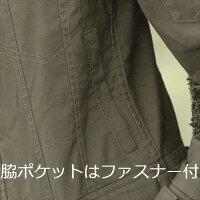 【送料無料】つなぎ作業服長袖ツナギ綿100%ヒッコリーGE-105