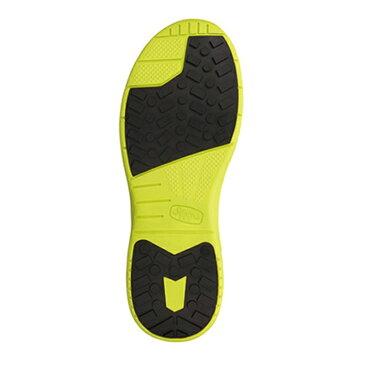 ※送料無料※ 【Simon】【JSAA A種】 シモン社製 スニーカー安全靴 スリッポン KL517 黒×イエロー