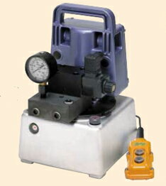小型電動油圧ポンプ UP-45SV G-2 電磁弁 自動リターン型 日東造機【未使用】【送料無料】【...