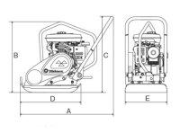 【送料無料】プレートコンパクターMVC-50GB三笠産業【お取り寄せ商品】【新品】【成田店】