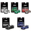 LBWK 1/64 MINI GT LB★WORKS GT-R ミニカー 5色セット 品番MC28-5COLOR