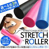 ヨガポール/ハーフサイズストレッチフォームローラーミニエクササイズポール体幹トレーニング