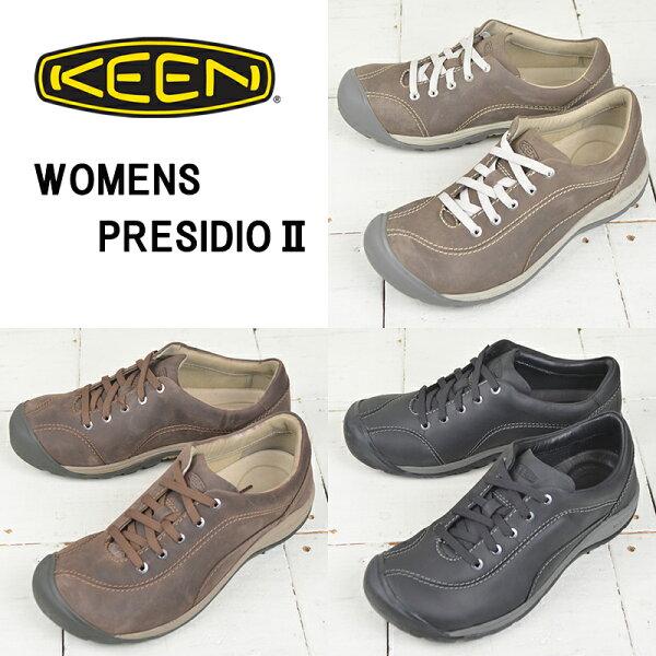 キーンレディースコンフォートシューズ KEEN PRESIDIO2プレシディオ2ウォーキングカジュアル
