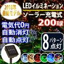 【200球】点灯モード8パターン☆イルミネーション LEDソ...