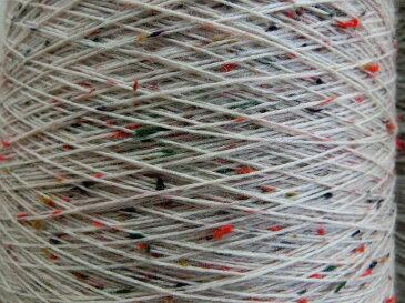 【毛糸】 カラーネップ付き <生成り1>