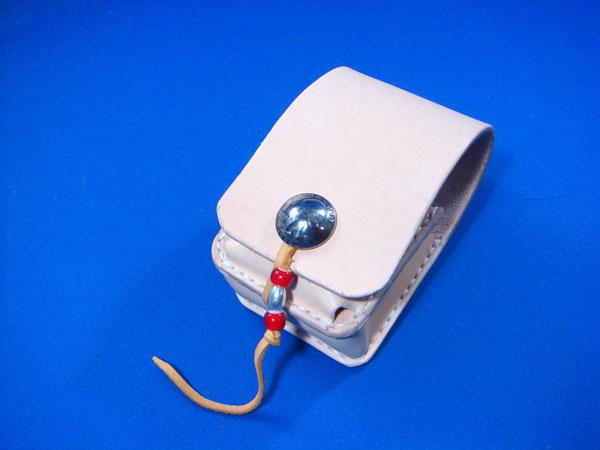 たばこケース ジッポ入れ付 シガレットケース サドルレザー製