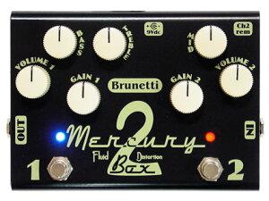 オーバードライブ/ディストーション Brunetti Mercury 2 Box [送料無料!]【smtb-TK】