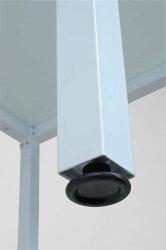 ガラスダイニングテーブルPA-12075ホワイト送料無料