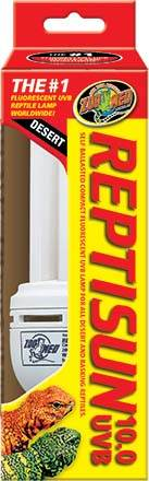 ZOOMED ズーメッド レプティサン10.0UVB 電球型蛍光灯26W (E-26) FS-C10J