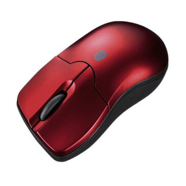 Bluetooth3.0 ブルーLEDマウス(レッド) ≪サンワサプライ≫ MA-BTBL27R 【離島 発送不可】