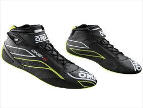 【OMP】ワンSレースブーツ Colour:Black