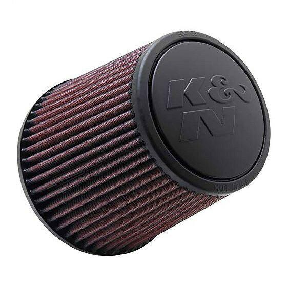 ☆【K&N】フィルターユニバーサルラウンドテーパードエアフィルター 76mm 117-152mm OD x 152mm L Rubber Centred