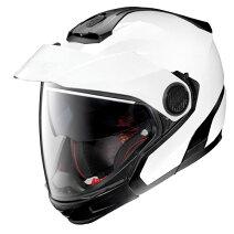 ♪お買い物マラソン♪☆【Nolan】(ノーラン)N40-5GTN-COMグラフィッククロスオーバーオートバイヘルメット Colour:ClassicMetalWhite