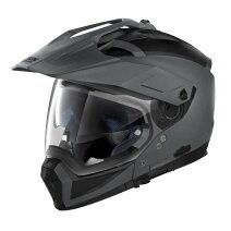 ♪お買い物マラソン♪☆【Nolan】(ノーラン)N70-2Xクラシックプレーンオートバイヘルメット Colour:FlatVulcanGrey