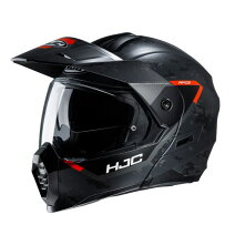♪お買い物マラソン♪☆【HJC】C80グラフィックオートバイヘルメット Colour:Orange