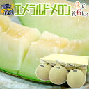 【ふるさと納税】クラウンメロン(山級)1玉 ギフト箱入り 【果物・マスクメロン・青肉】