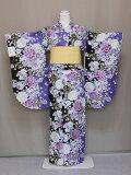 二尺袖フリ−サイズ二尺袖の仕立上りきもの洗える二尺袖卒業式に袴に合う小振袖レンタルよりお得送料無料D4490-01
