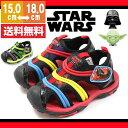 【アウトレット】 サンダル キッズ ディズニー スターウォーズ ストラップ 靴 Disney STAR WARS 1008