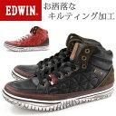 スニーカー ハイカット メンズ 靴 EDWIN ED-7655 エドウ...