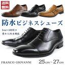 【週末セール 7/15 8:00時まで】ビジネス シューズ メンズ 革靴 FRANCO GIOVANNI FG772/773