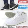 スニーカー ハイカット メンズ 靴 PARK AVENUE PA2520