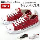 エドウィン スニーカー ローカット レディース 靴 EDWIN ED-...