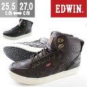 エドウィン スニーカー ハイカット メンズ 靴 EDWIN ...