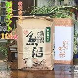 魚沼産コシヒカリ検査一等米白米10kg(当地生産農家のお米)3650円